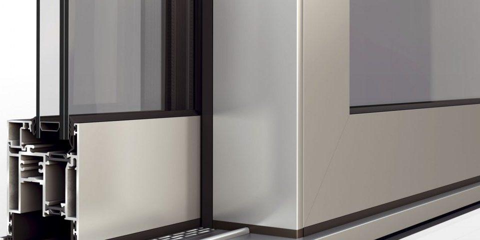 پنجره آلومینیوم ترمال بریک لورنزو