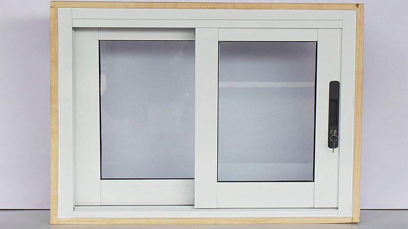 پنجره دو جداره آلومینیومی کشویی