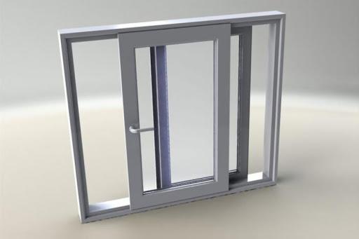 پنجره آلومینیوم دو جداره