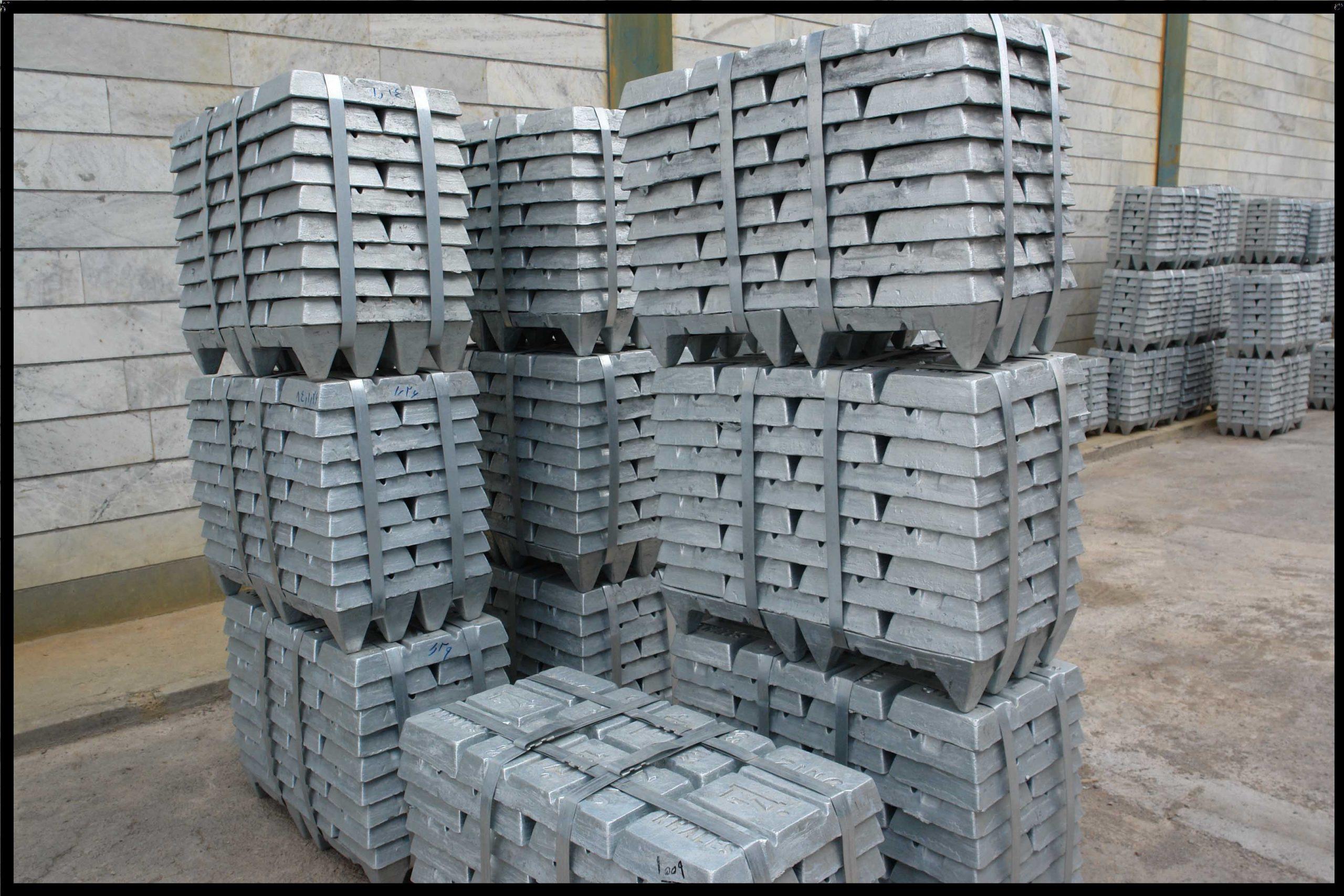 شمش های آلومینیوم بازیافتی