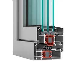 پنجره آلومینیوم ترمال بریک